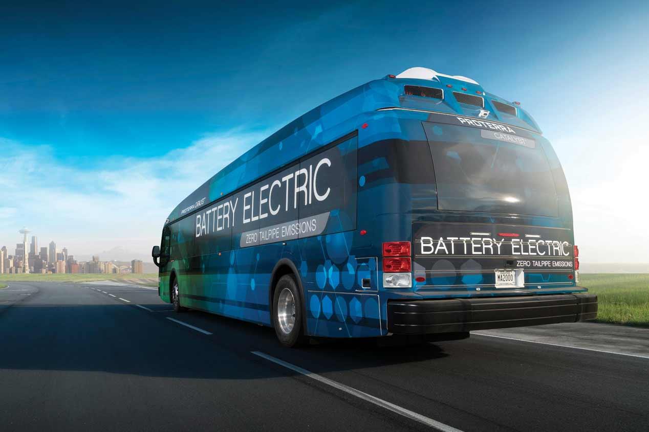 Proterra Catalyst, el autobús eléctrico de 1.800 de autonomía