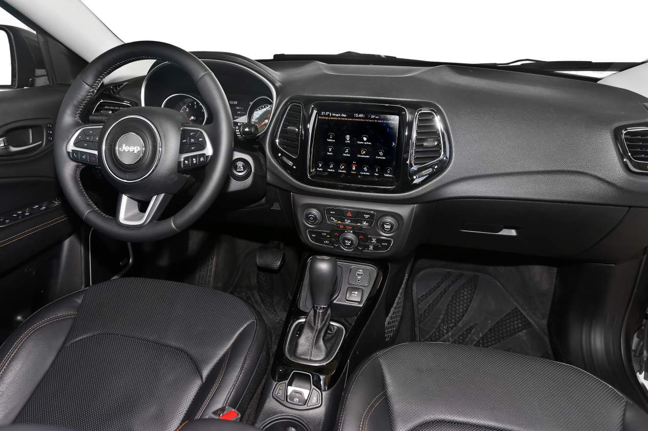 Jeep Compass: interior