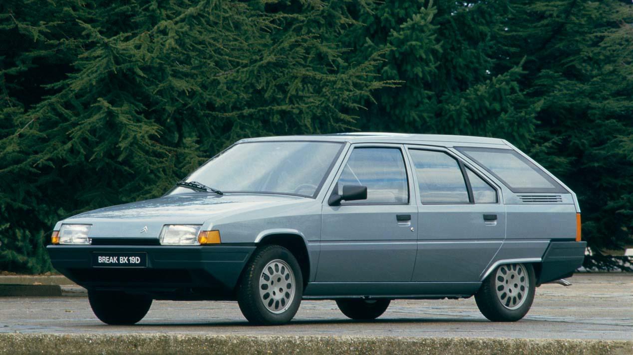 35 años para el Citroën BX
