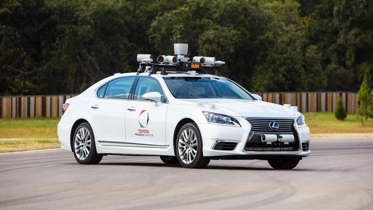 Toyota presenta sus últimos avances en conducción autónoma