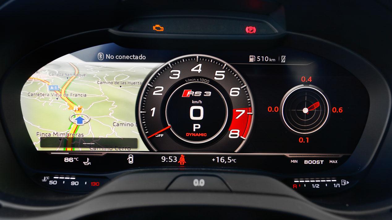 Prueba: Audi RS3 Sedán, un cohete deportivo
