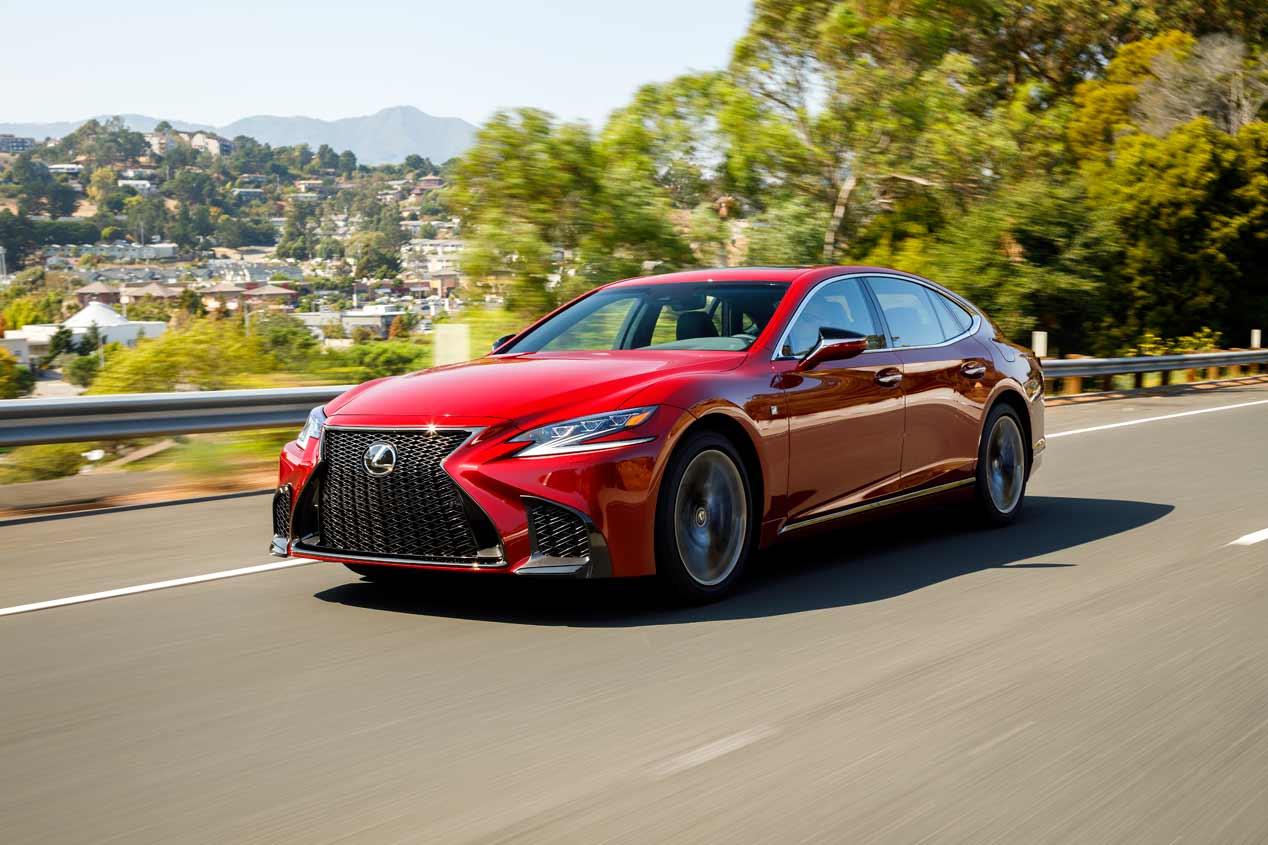 Lexus LS 2018, en imágenes