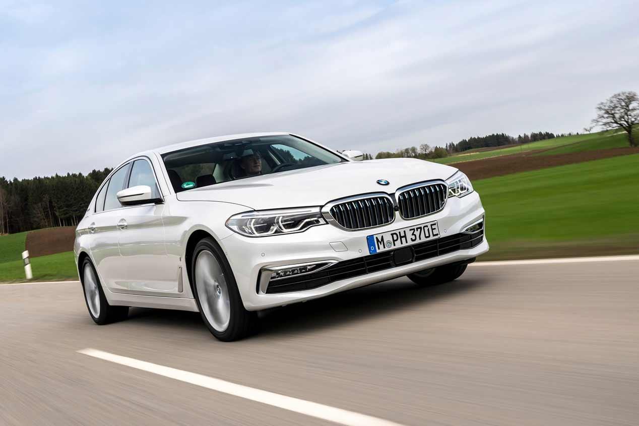A prueba el BMW 530e iPeformance híbrido enchufable