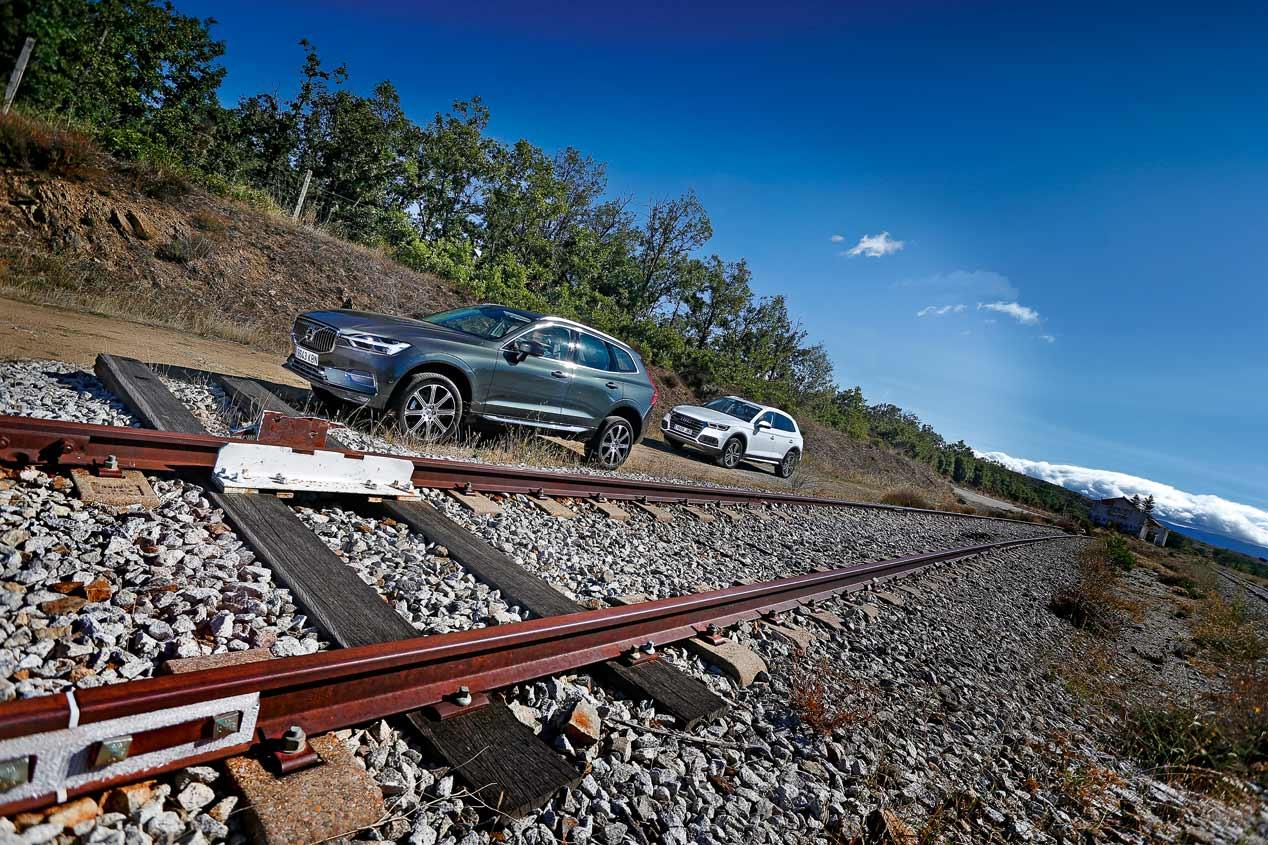 Comparativa SUV: Audi Q5 TDI vs Volvo XC60 D4