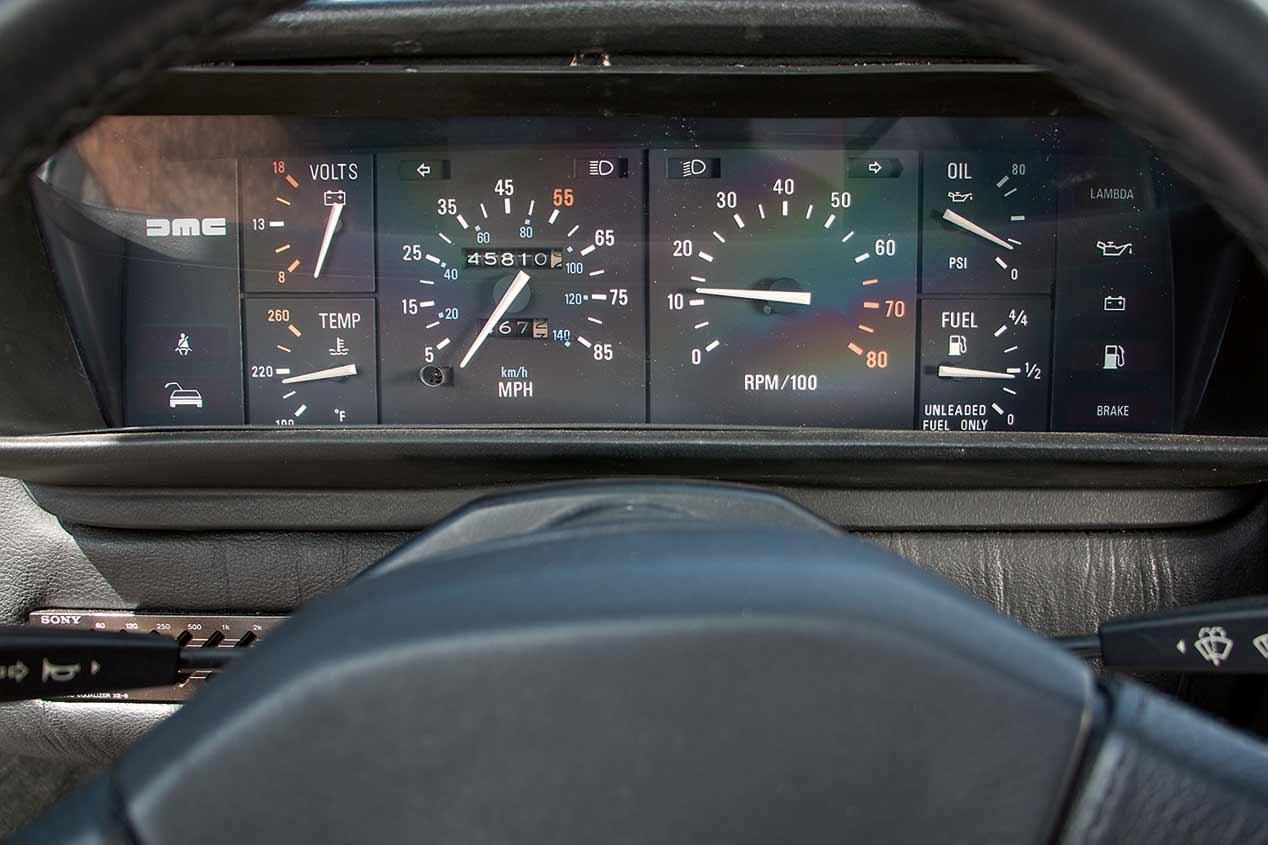 A prueba el DeLorean DMC-12 de Regreso al Futuro
