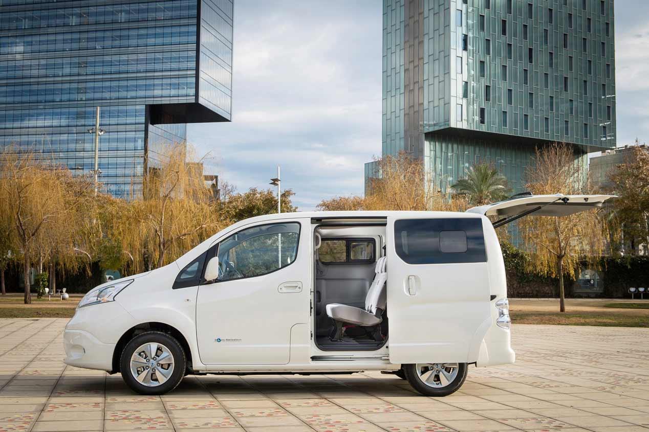 La nueva Nissan e-NV200 2018, en imágenes