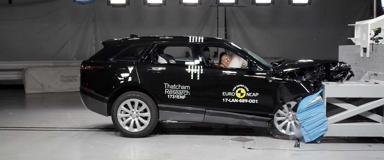 Range Rover Velar, ya presume de 5 estrellas EuroNCAP