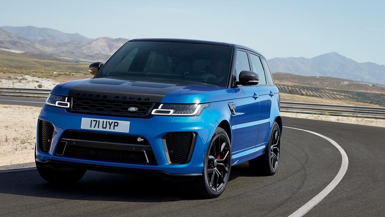 Cambio de cara para el Range Rover Sport 2018