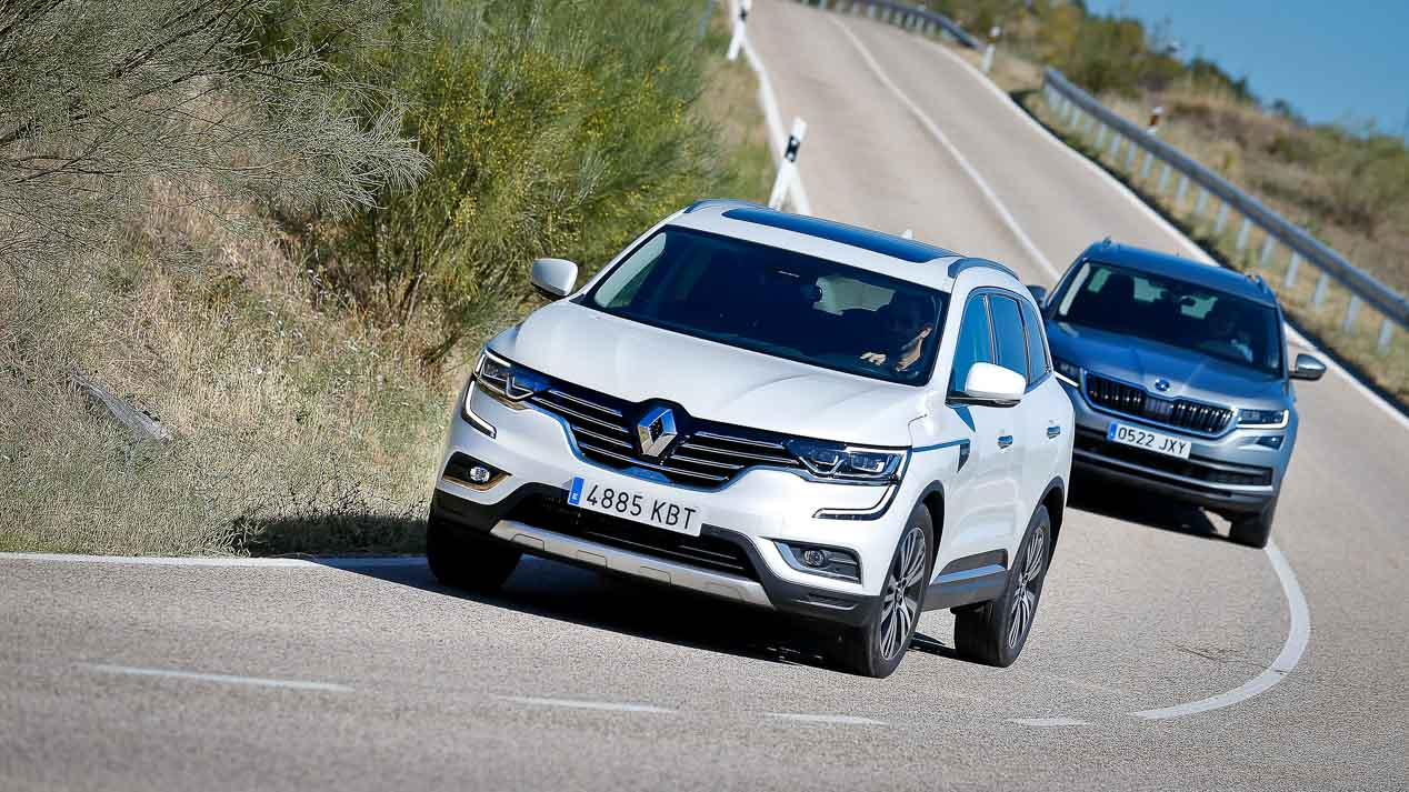 Comparativa SUV: Renault Koleos 2.0 dCi/175 vs Skoda Kodiaq 2.0 TDI/190