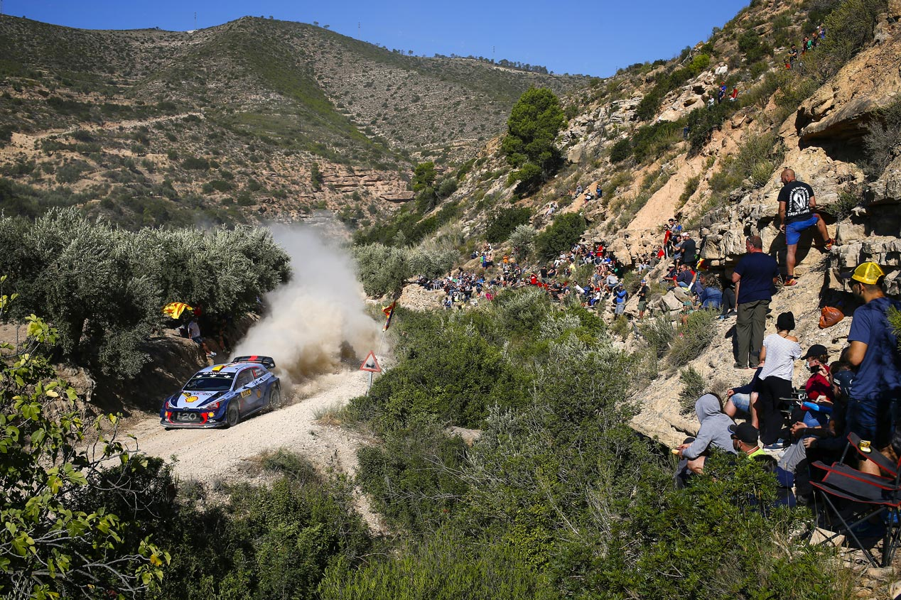 Rally de España 2017: las mejores fotos del viernes