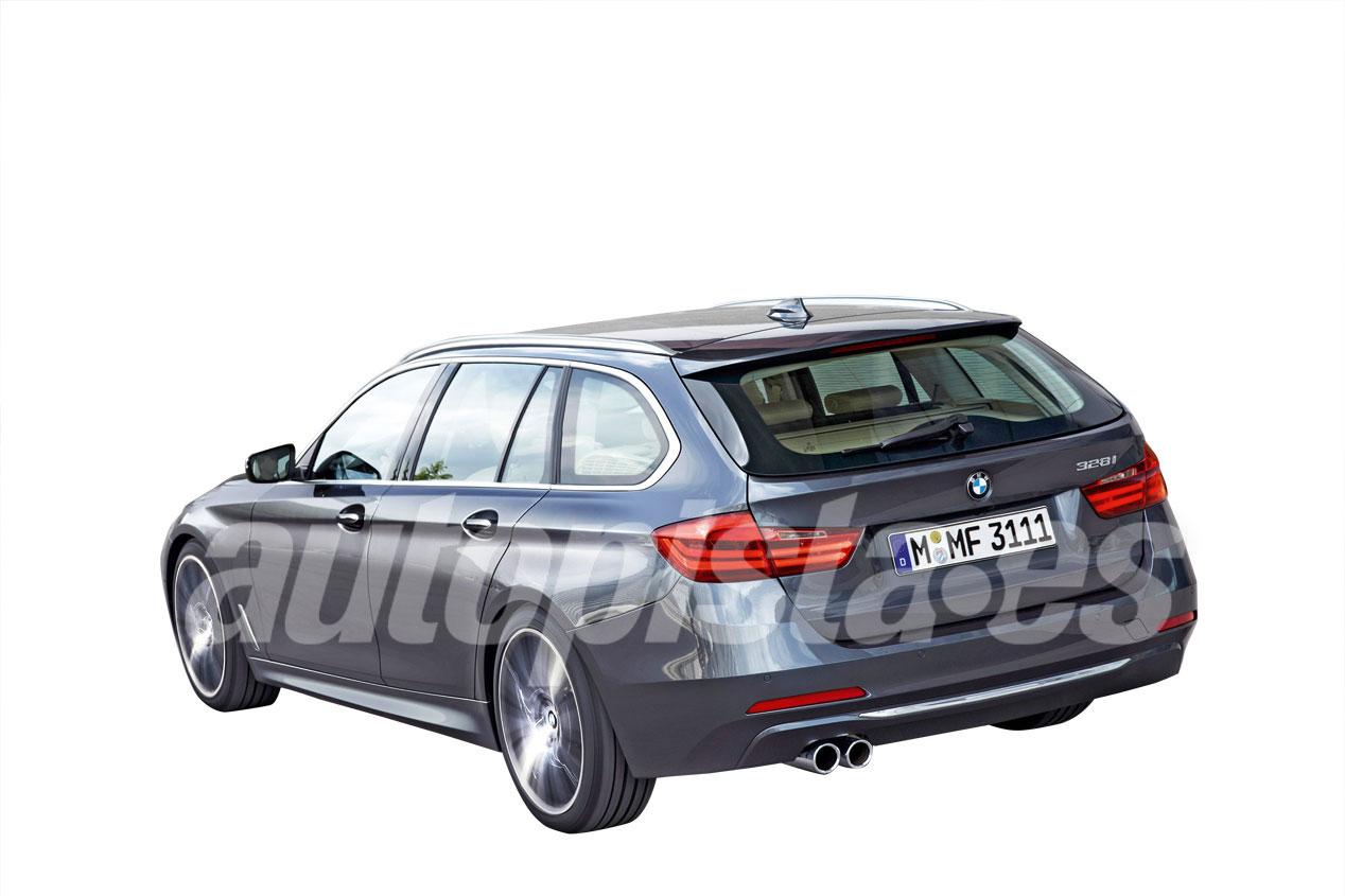 BMW Serie 3 2018 y Mercedes Clase C 2020, primeras imágenes