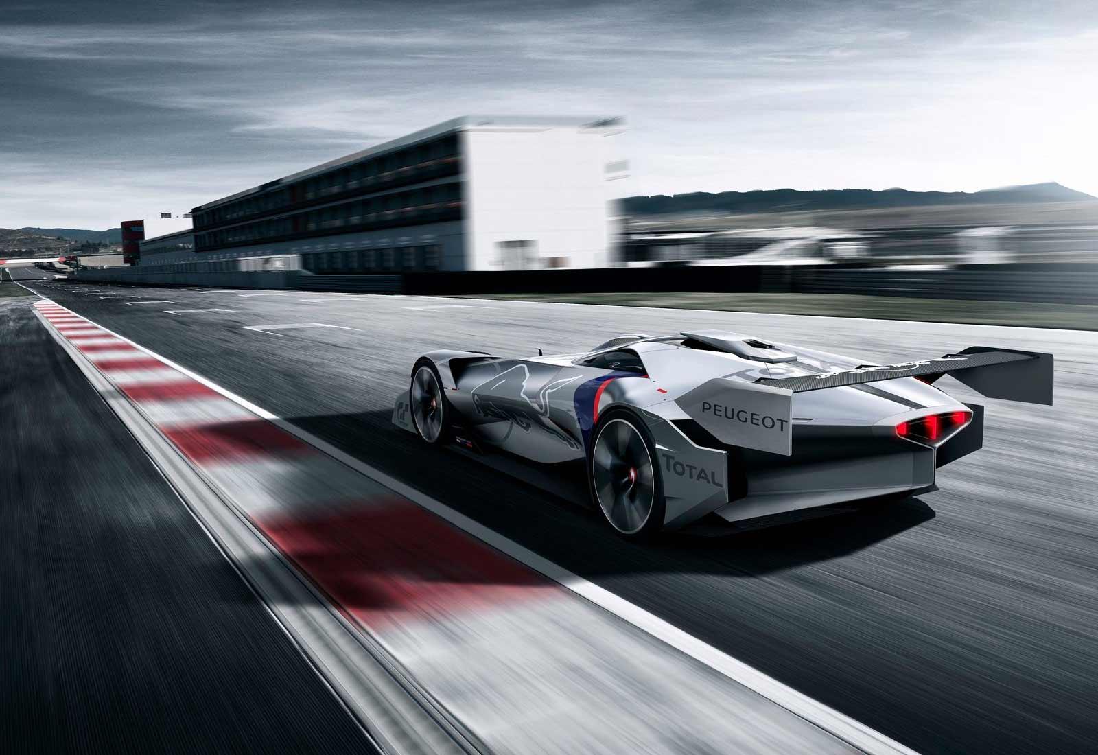 Peugeot L750 R HYbrid Vision, prototipo espectacular para el Gran Turismo Sport