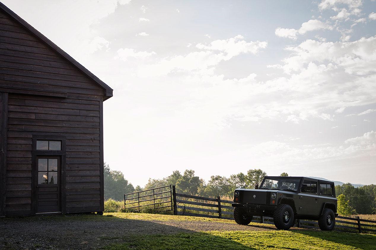Bollinger B1 4x4 eléctrico: sus fotos más espectaculares