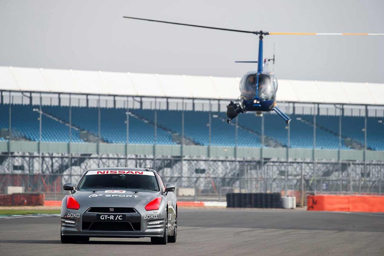 Nissan y Playstation convierten un GT-R en un coche teledirigido
