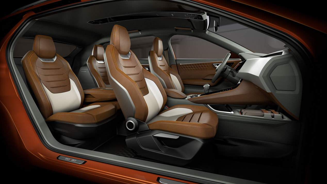 Seat SUV coupé en 2020, primeras imágenes