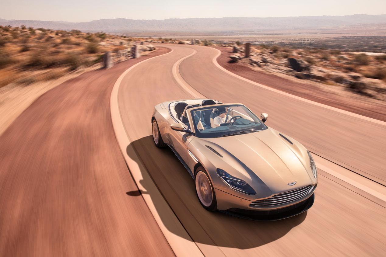 Aston Martin DB11 Volante: las fotos del nuevo descapotable