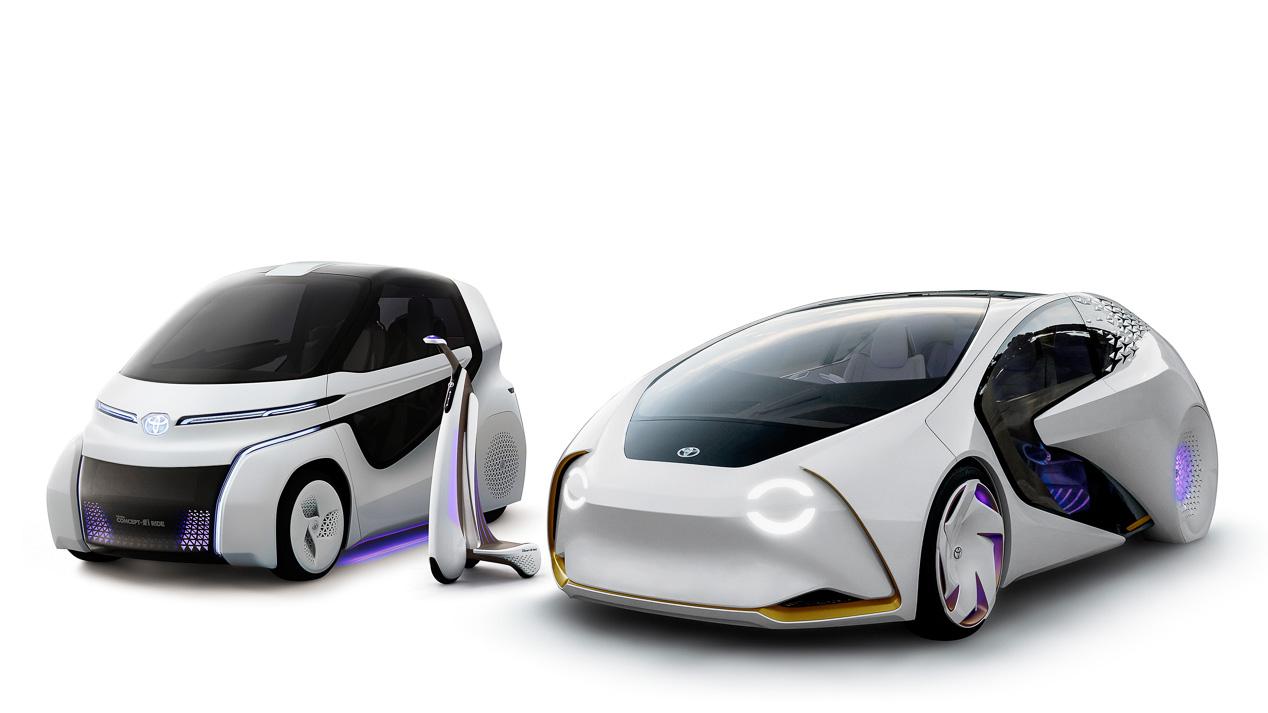 Toyota presenta Concept-i, tres prototipos eléctricos para el Salón de Tokio 2017
