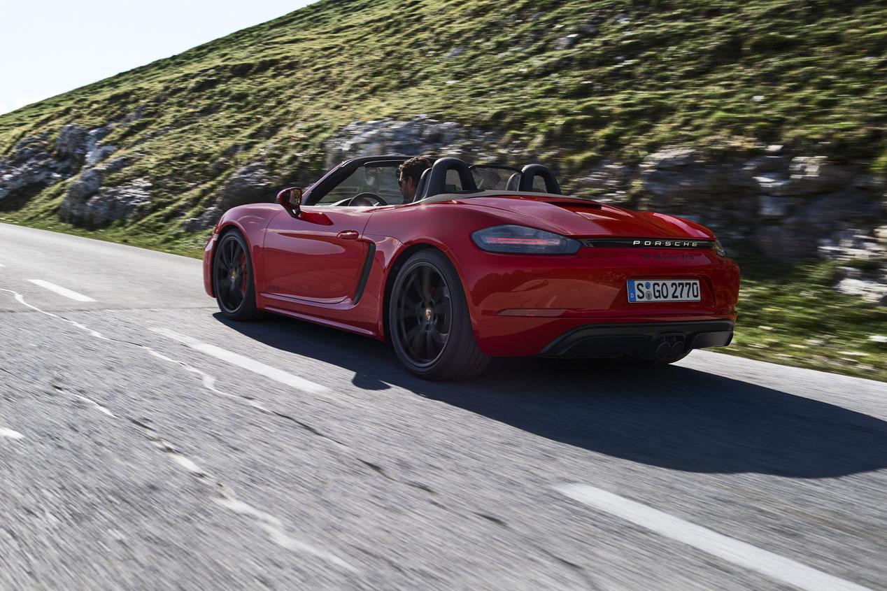 Las mejores fotos de los Porsche 718 Cayman y Boxster GTS