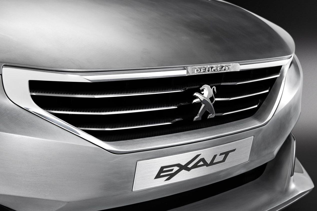 Peugeot 508 2018: con base del 5008 y rasgos del Exalt Concept