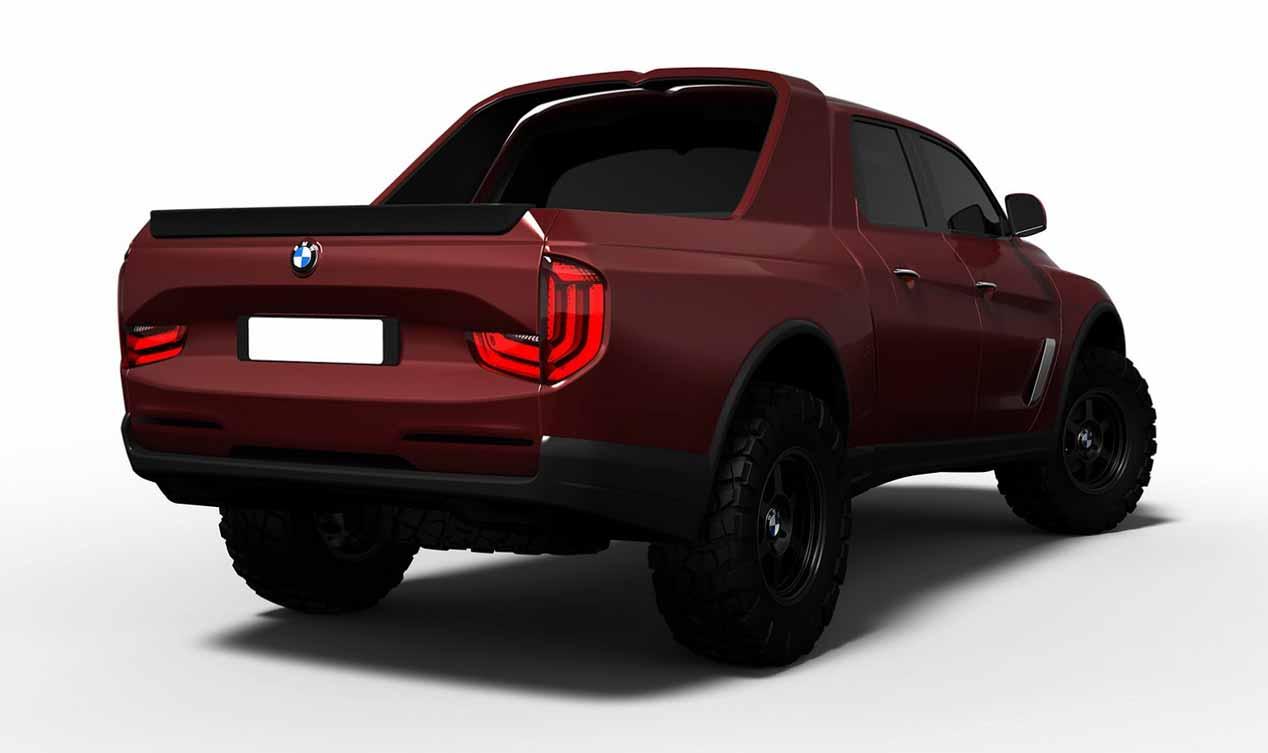 ¿Nuevo BMW pick-up en 2018? Primeras recreaciones