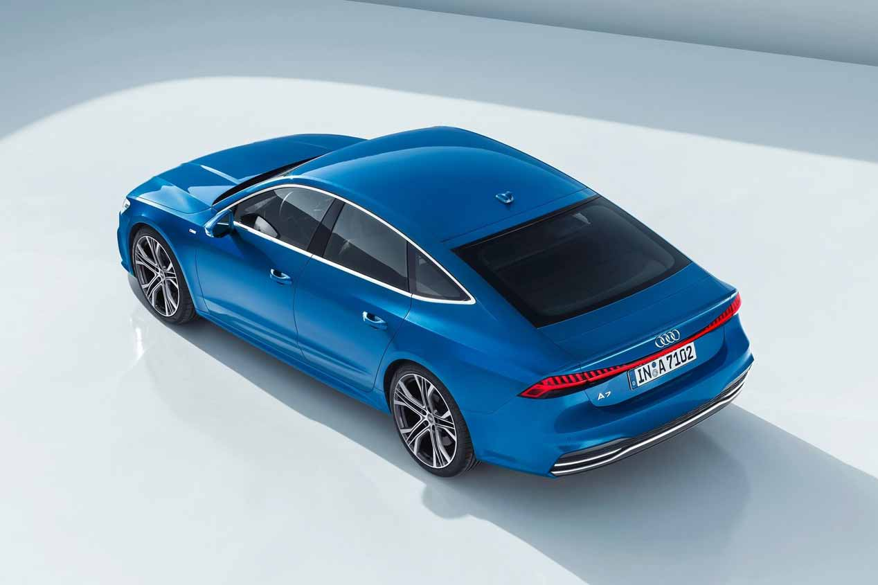 Audi A7 Sportback 2018: primeras fotos oficiales