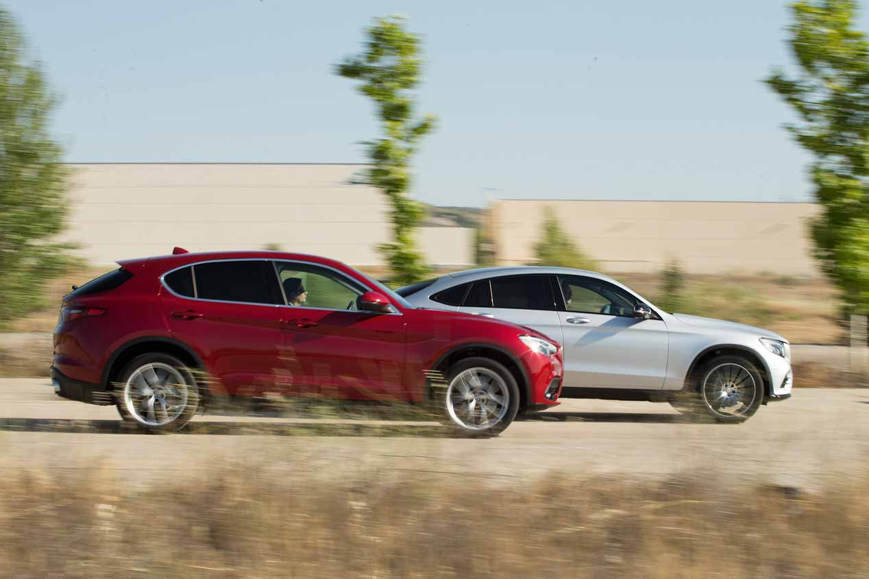 Alfa Romeo Stelvio vs Mercedes GLC Coupé: ¿cuál es mejor SUV?