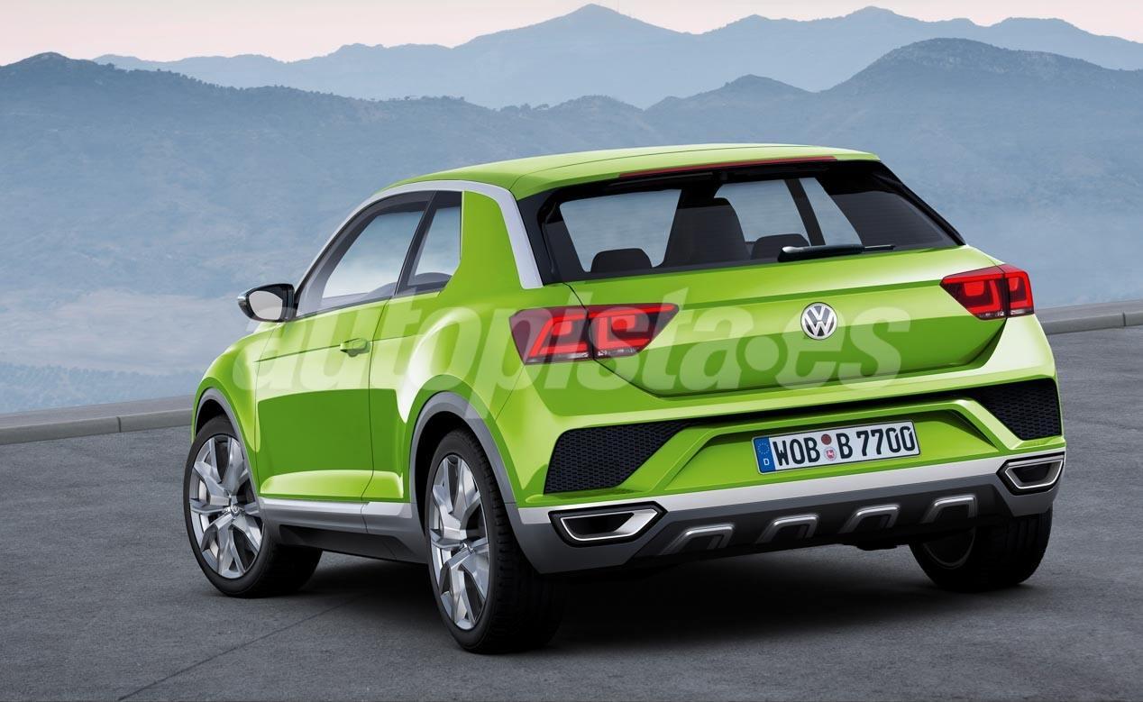 Volkswagen T-Cross: el Polo SUV que llega en 2018