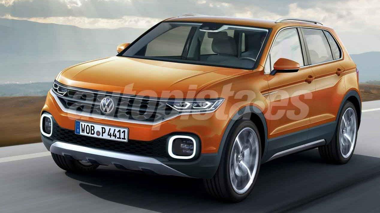 Volkswagen T-Cross: nuevo SUV para 2018 con la base del ...