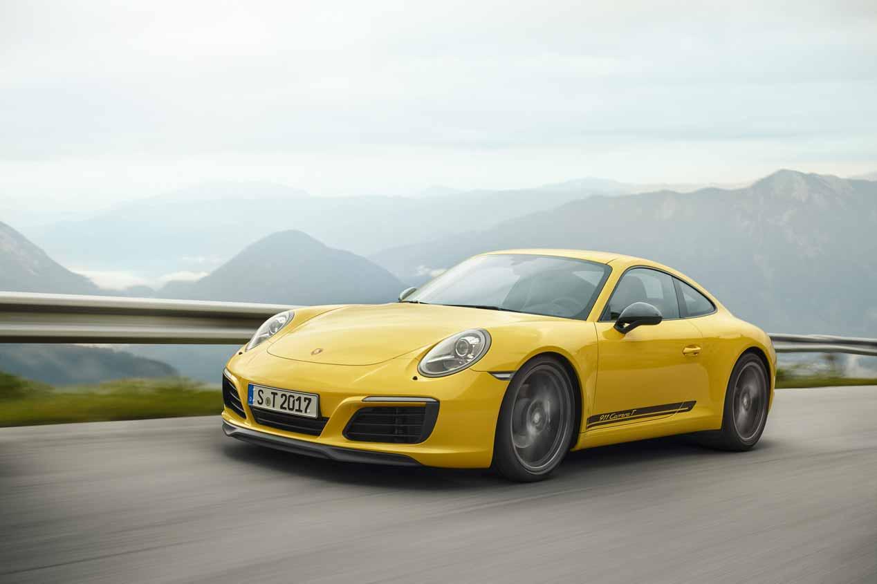 Porsche 911 Carrera T, las mejores imágenes