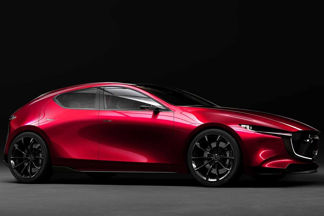 Mazda Kai Concept: primeras fotos del futuro Mazda3
