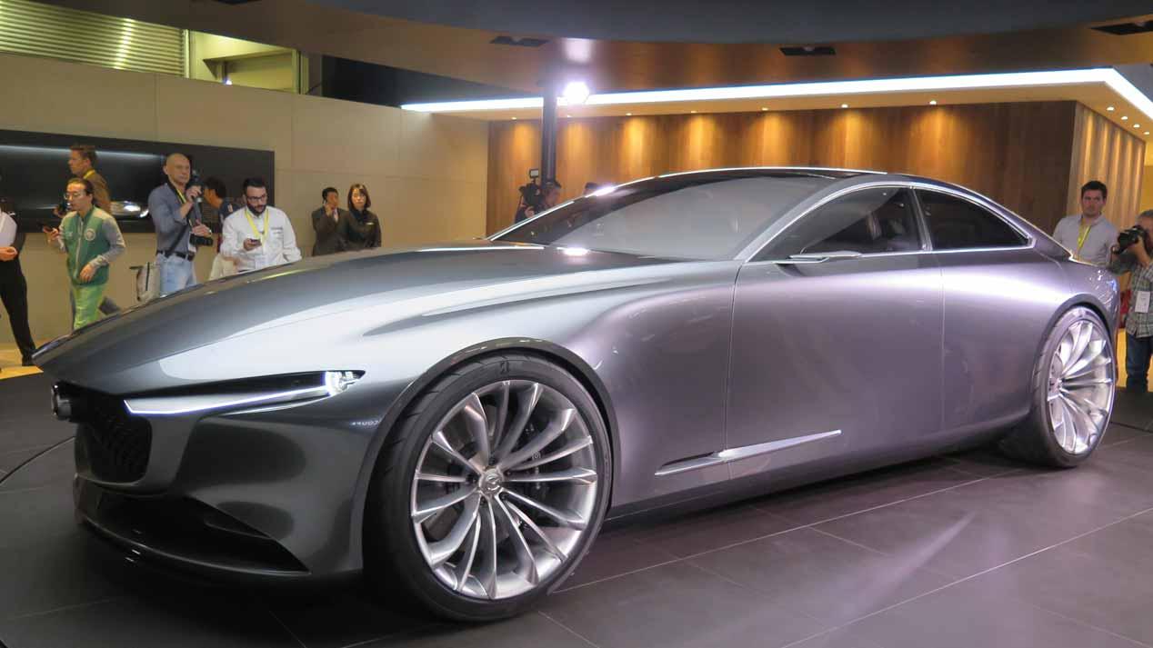 Mazda Vision Coupé Concept: ¿la nueva berlina Mazda6?
