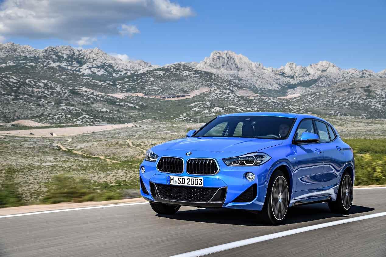 BMW X2, las imágenes del nuevo SUV pequeño de BMW