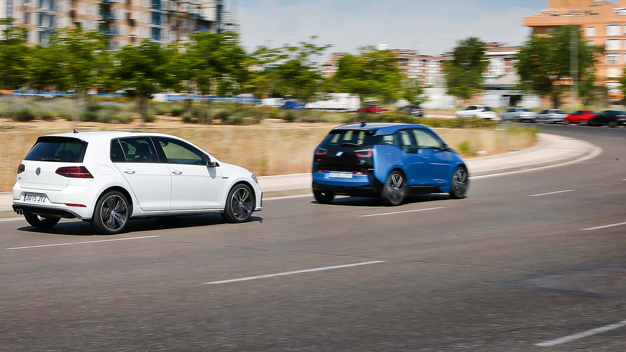 BMW i3 vs VW Golf GTE
