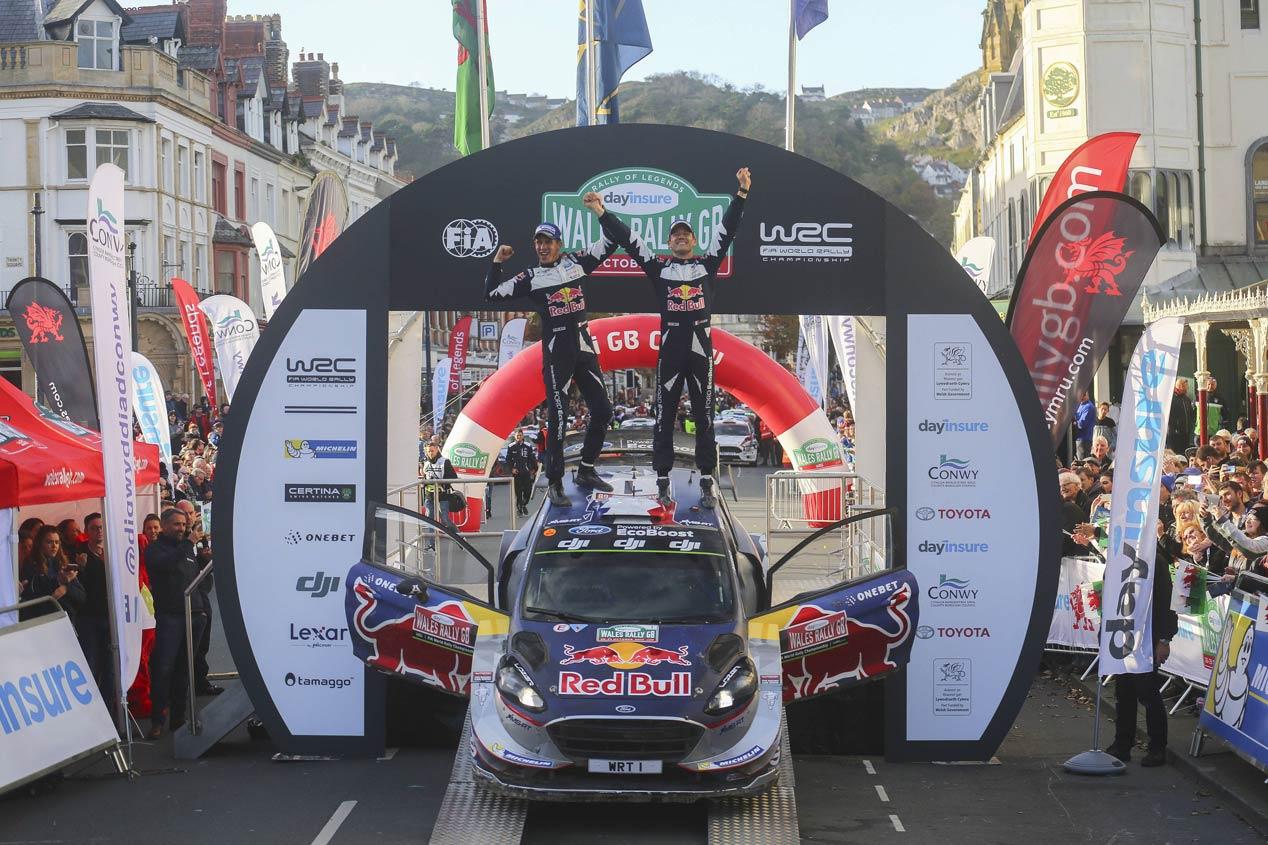 Rally de Gales 2017: Evans gana y Ogier campeón