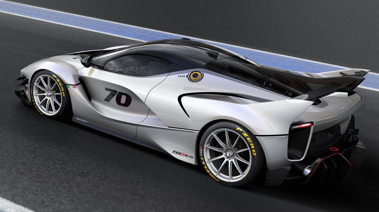 Ferrari FXX K-Evo: mismo motor, más rápido