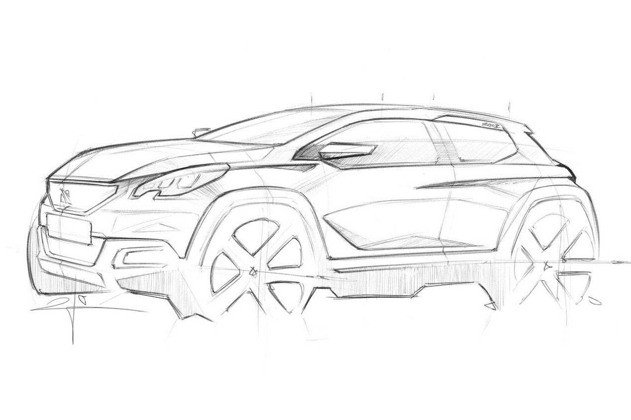Peugeot 2008: así será la segunda generación del SUV en 2019