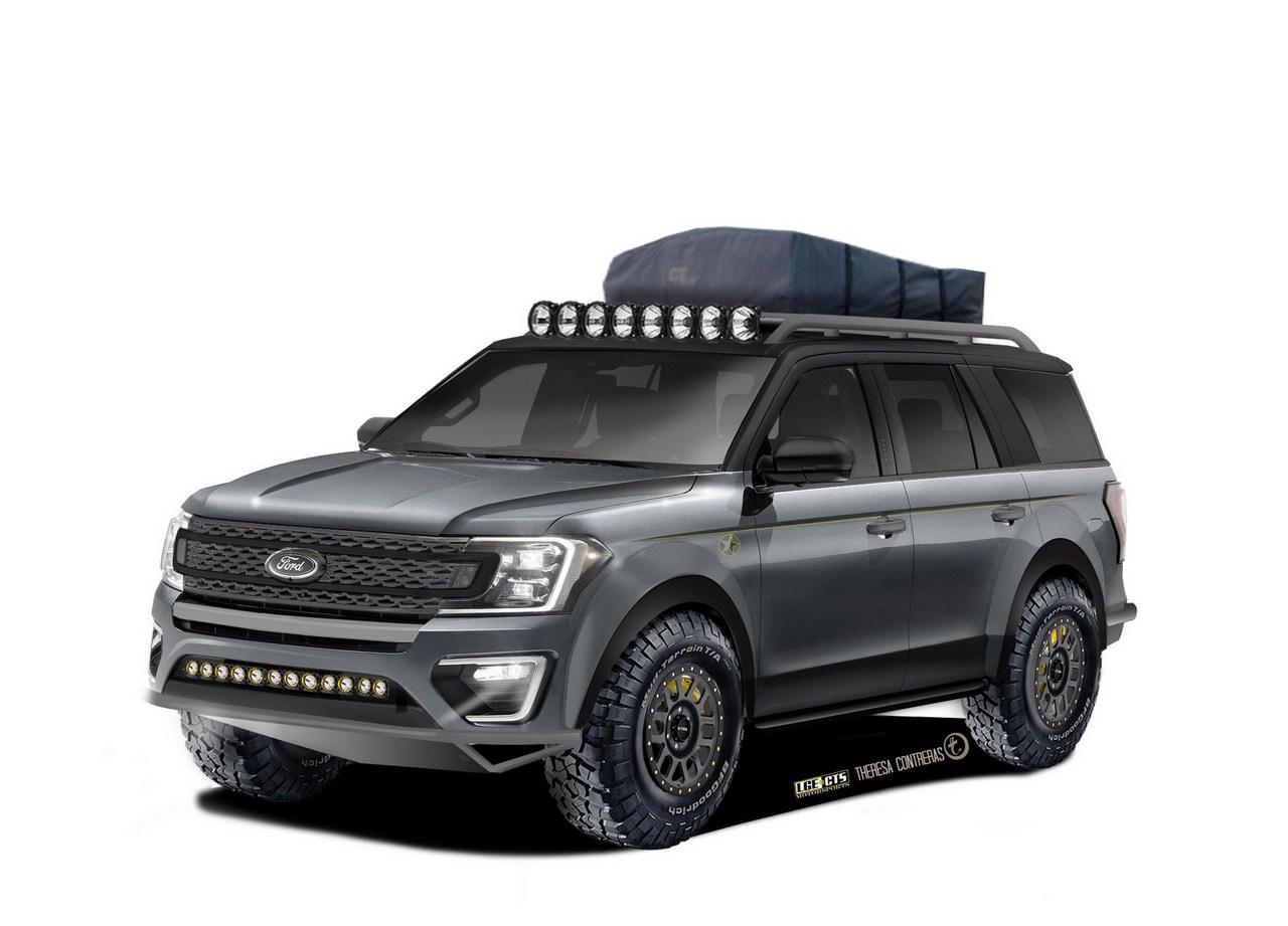 Ford en el SEMA, ¡tres SUV brutales!