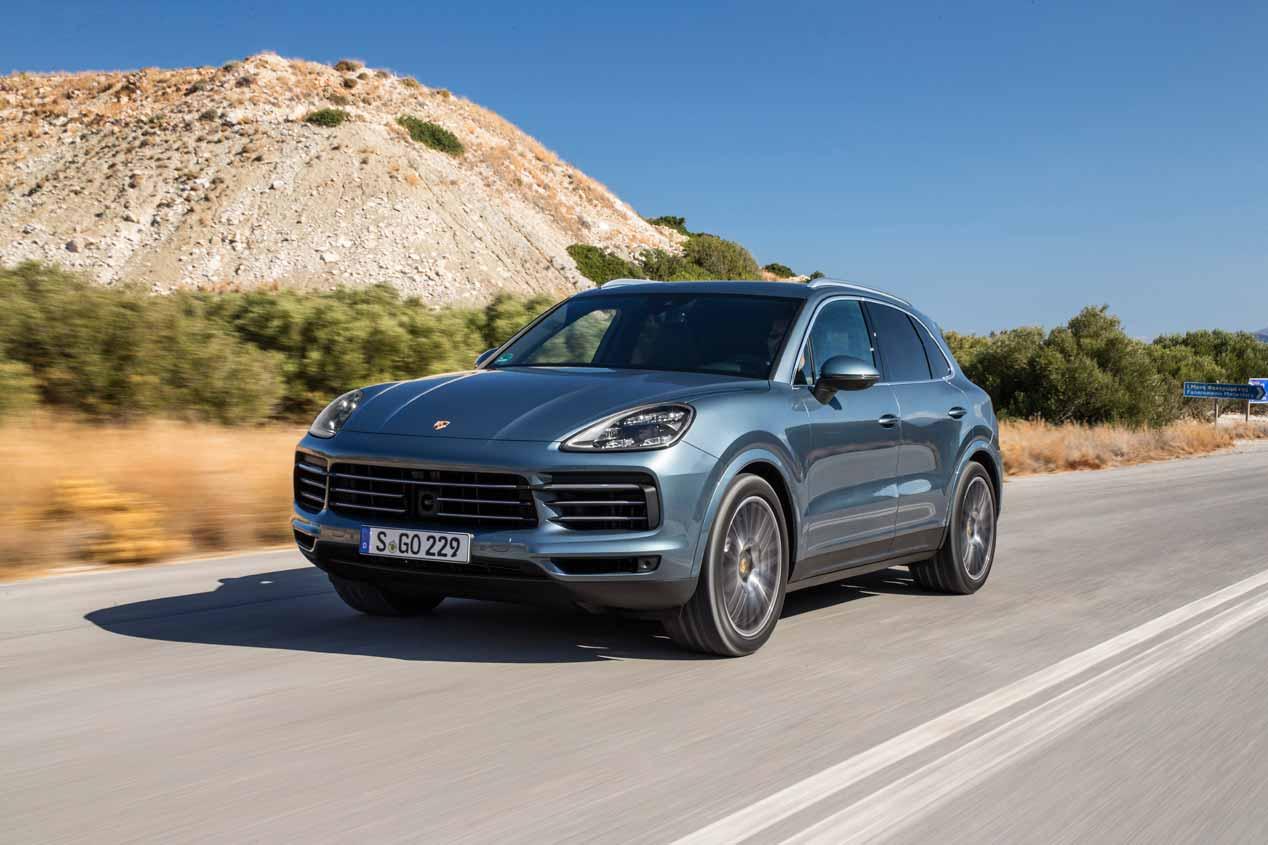 Probamos el Porsche Cayenne 2018