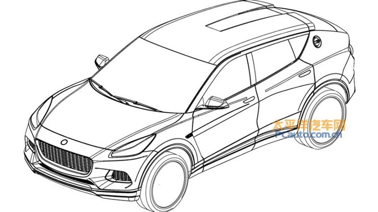 Así será el SUV de Lotus según sus patentes