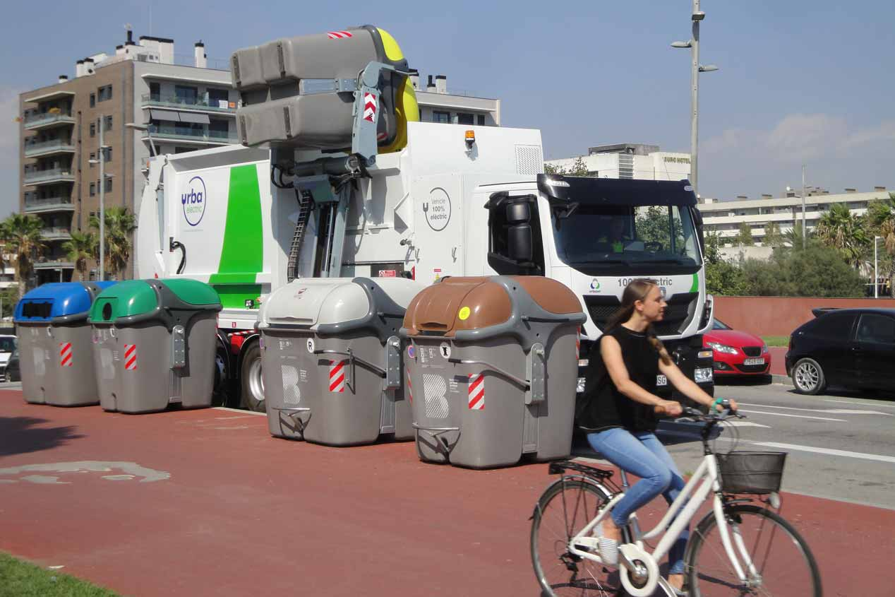 Urbaelectric, el camión eléctrico pesado de 27 toneladas