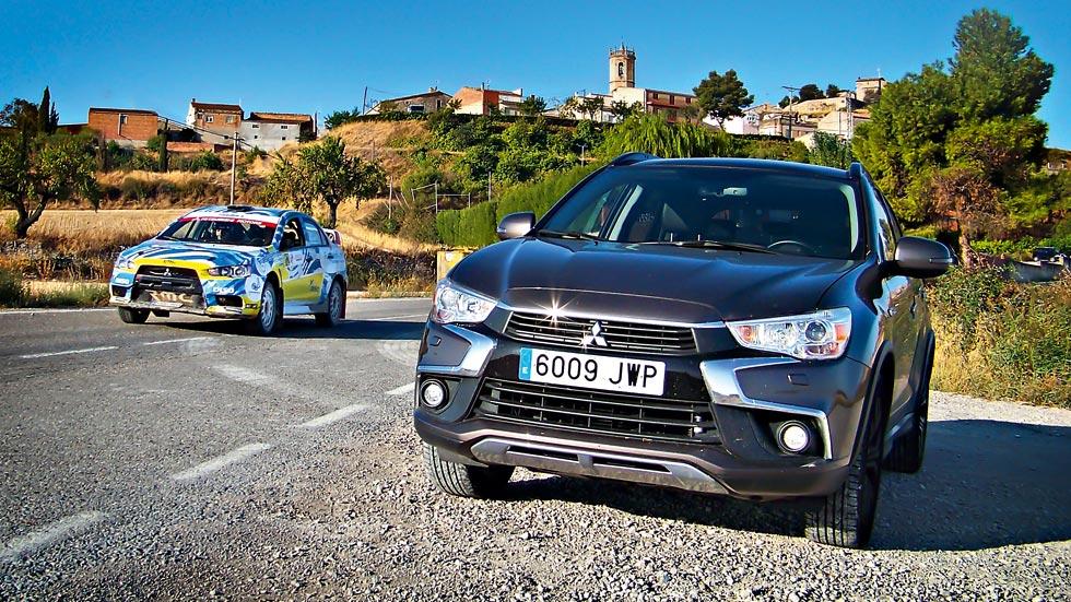 De ruta con el Mitsubishi ASX: Nacional de Rallyes en Cervera
