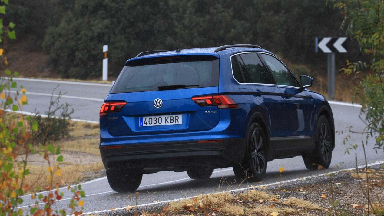 Comparativa SUV: Peugeot 5008 1.6 BlueHDI vs VW Tiguan 2.0 TDI