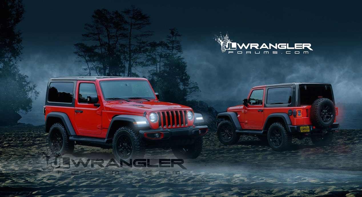 Jeep Wrangler 2018: primeras imágenes oficiales del mítico 4x4