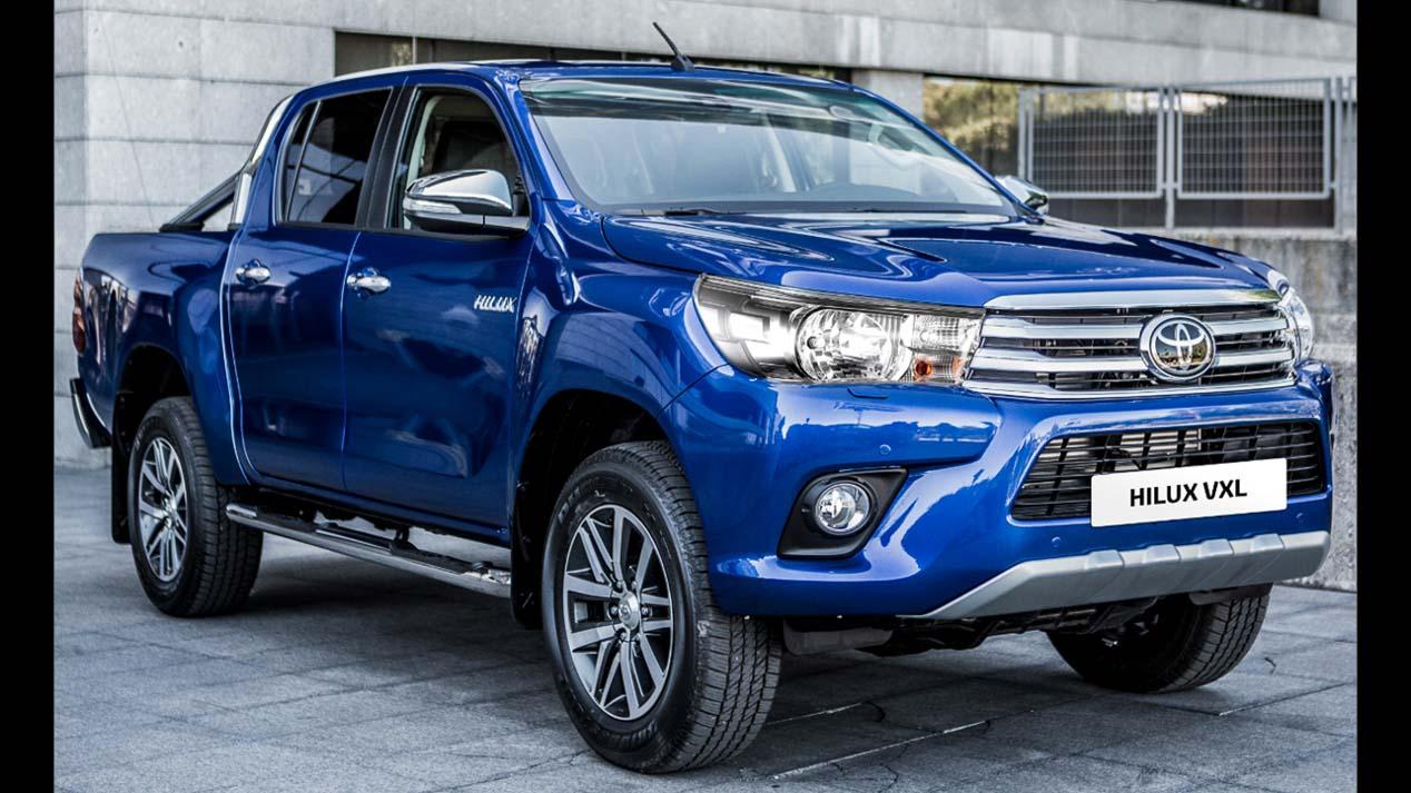 Toyota Hilux gama 2018 y antecesores