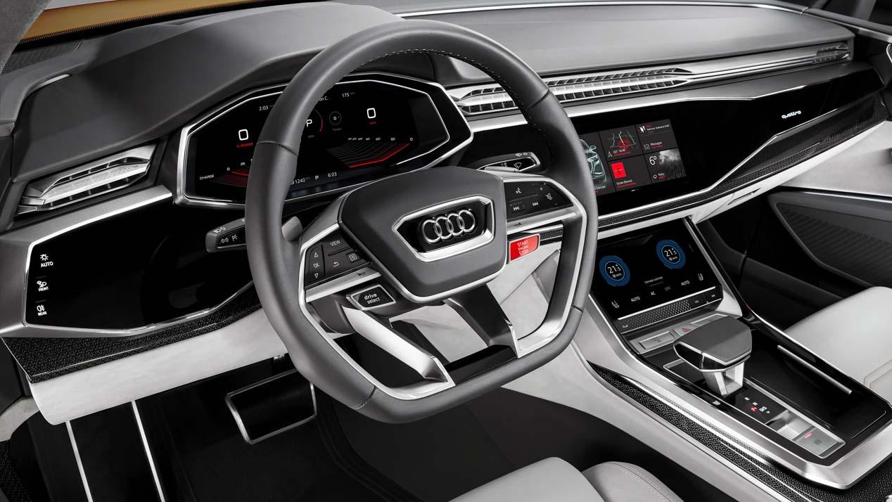 Audi Q8: el nuevo SUV que llega en verano de 2018