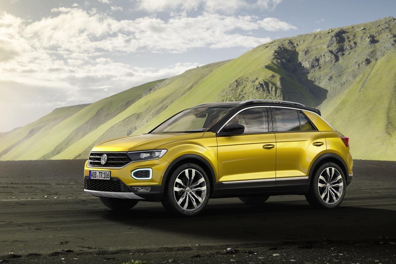 Volkswagen T-Roc, así es en movimiento