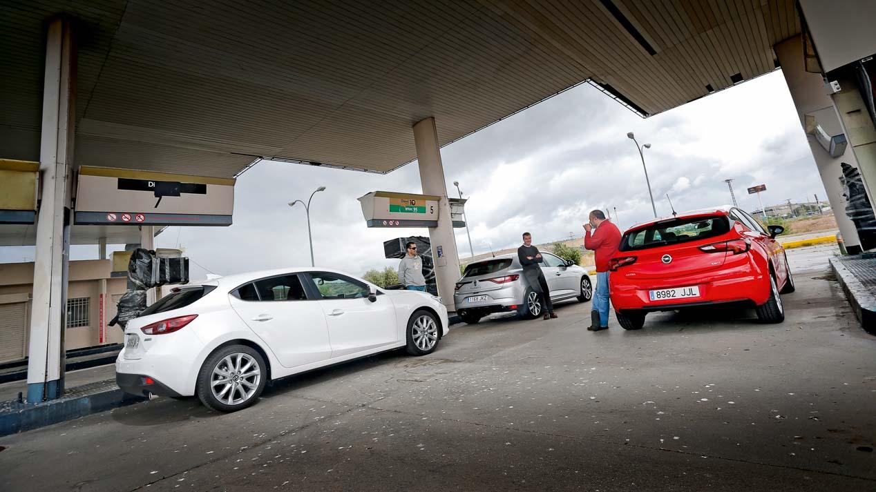 Los nuevos compactos de gasolina: comparativa de prestaciones y consumos