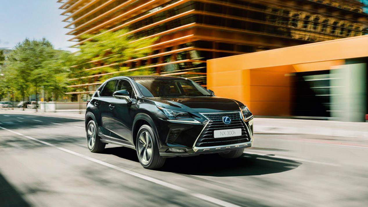 A los mandos del nuevo Lexus NX 2018