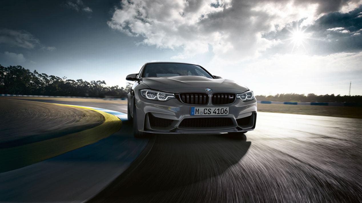 BMW M3 CS: una bestia civilizada más ligera y más potente.