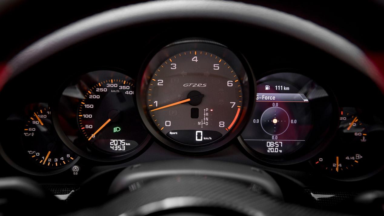 Porsche 911 GT2 RS: a prueba el coche más rápido
